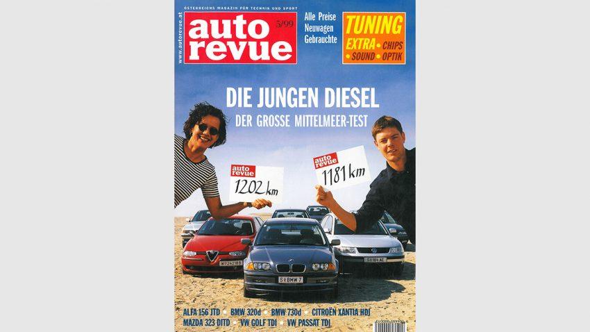 Autorevue Magazin-Archiv: Ausgabe 05/1999