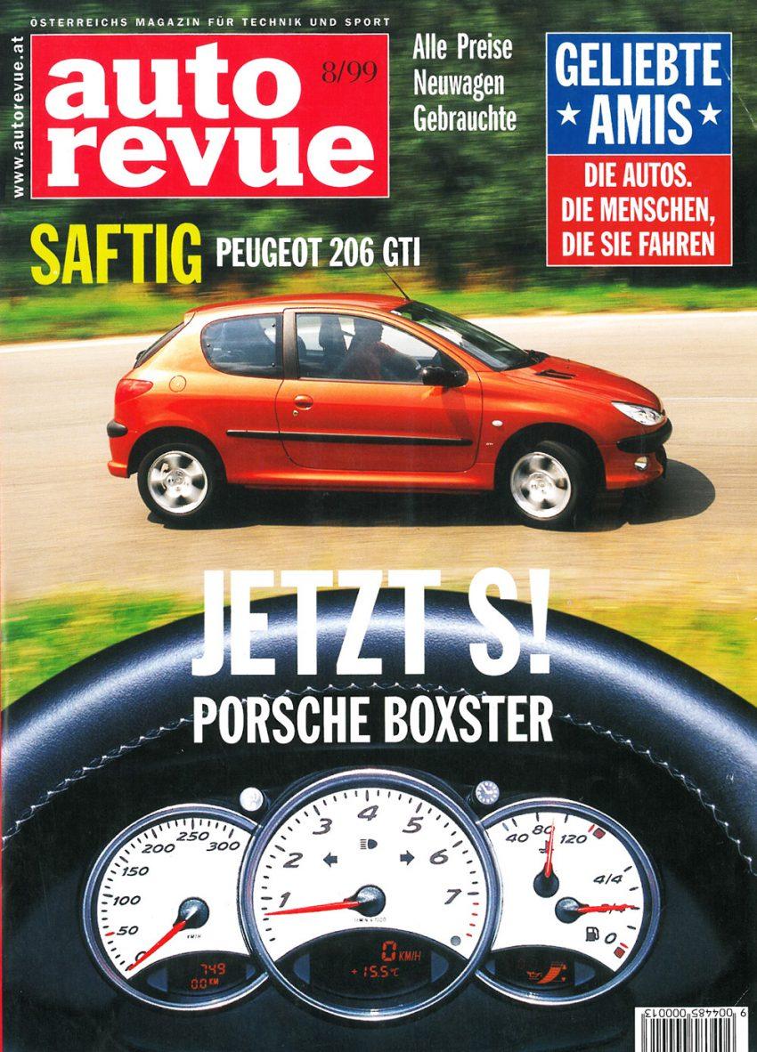 Autorevue Magazin-Archiv: Ausgabe 08/1999