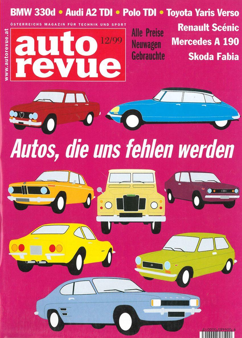 Autorevue Magazin-Archiv: Ausgabe 12/1999