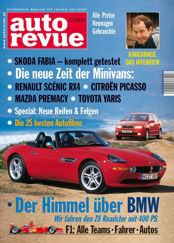 Autorevue Magazin-Archiv: Ausgabe 03/2000