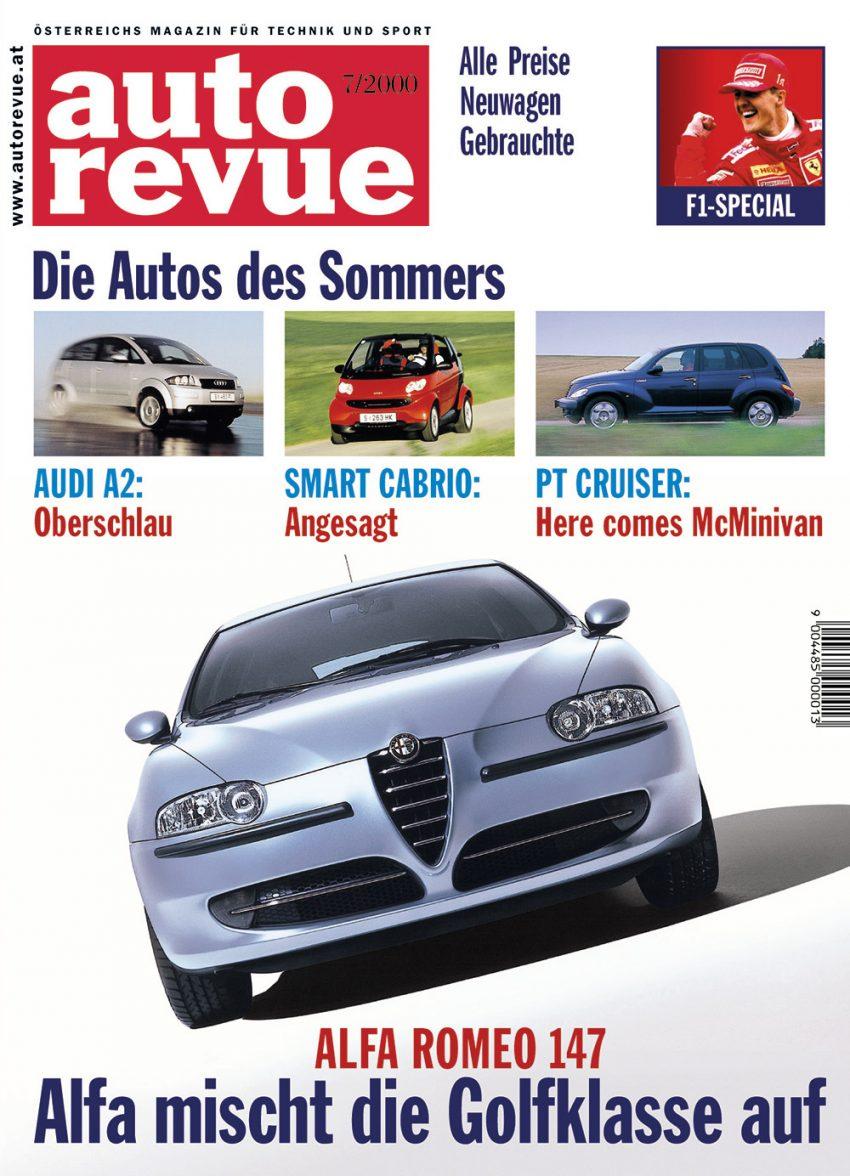 Autorevue Magazin-Archiv: Ausgabe 07/2000