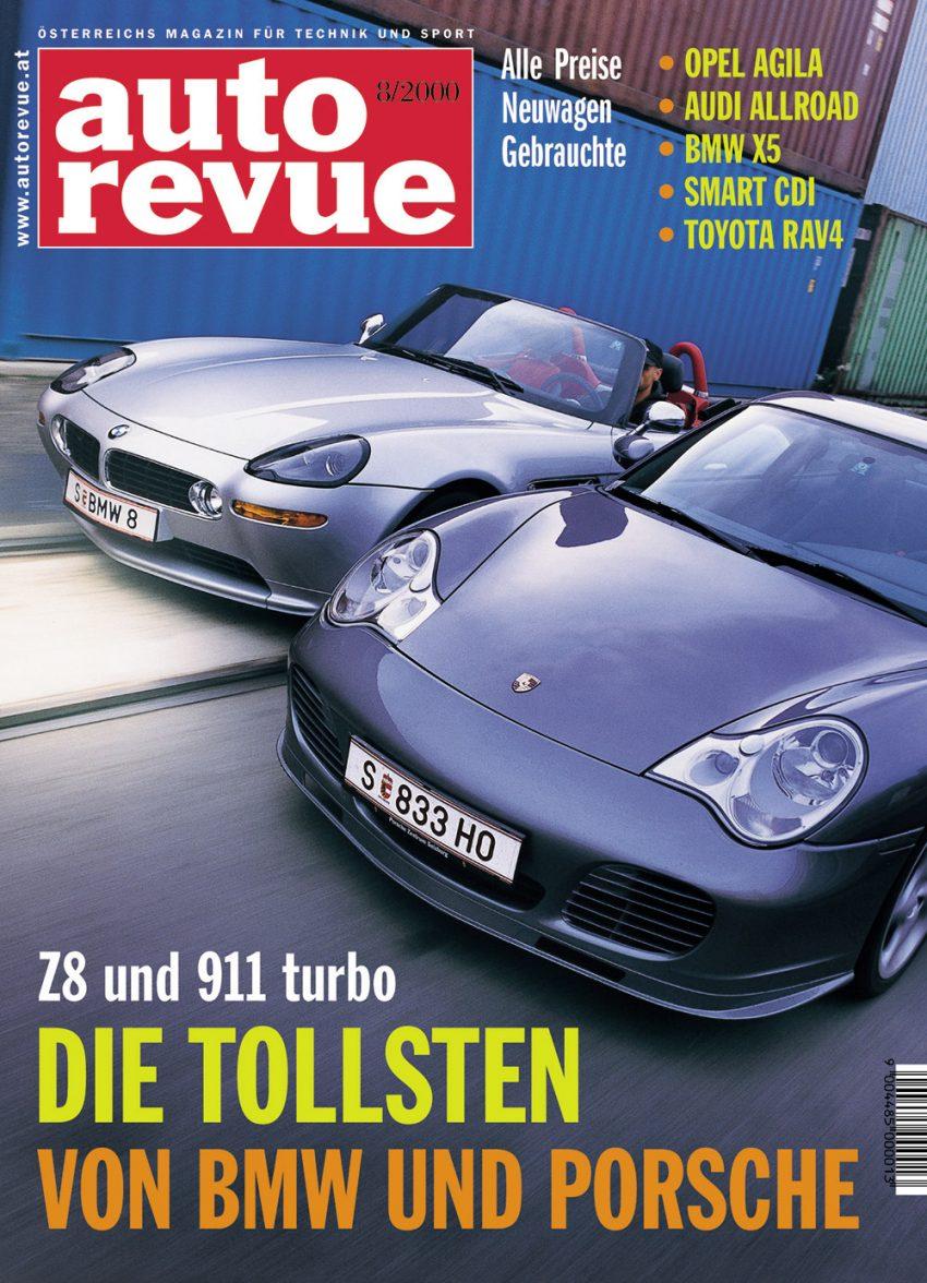 Autorevue Magazin-Archiv: Ausgabe 08/2000