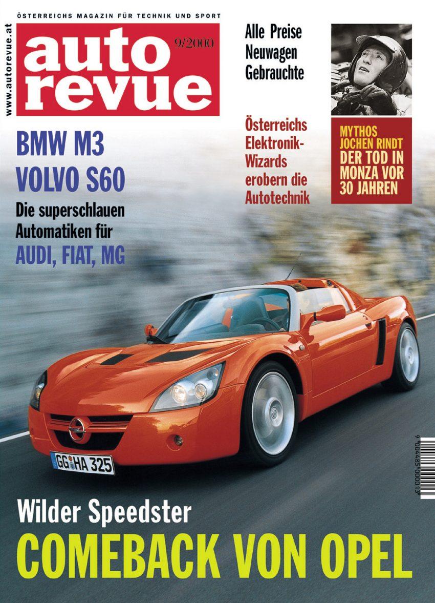 Autorevue Magazin-Archiv: Ausgabe 09/2000