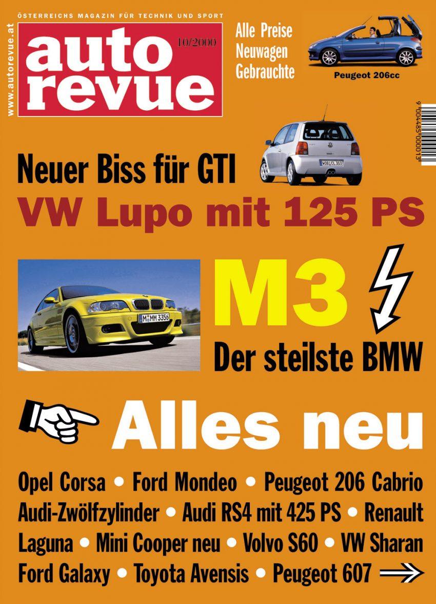 Autorevue Magazin-Archiv: Ausgabe 10/2000