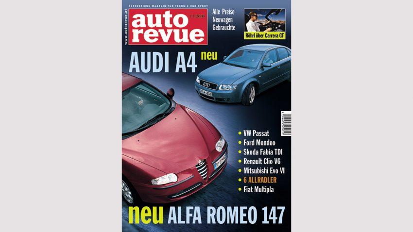 Autorevue Magazin-Archiv: Ausgabe 11/2000