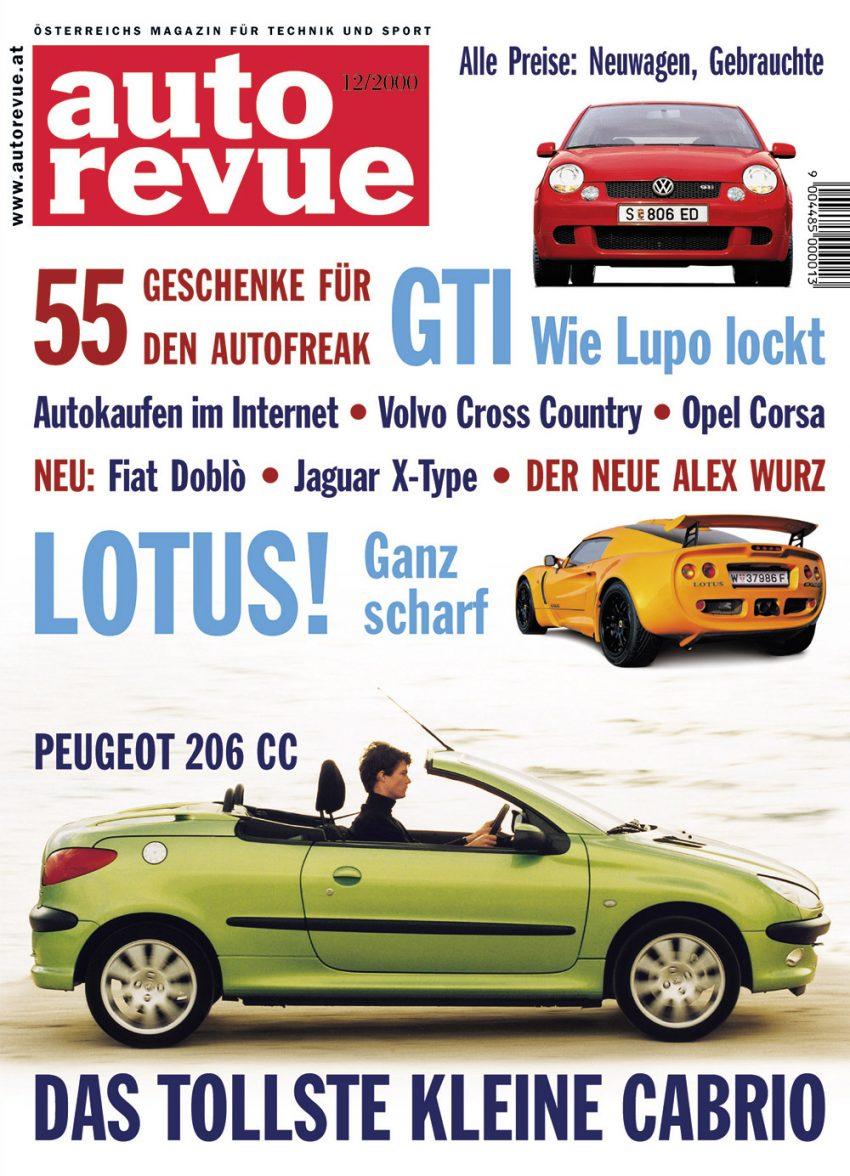 Autorevue Magazin-Archiv: Ausgabe 12/2000