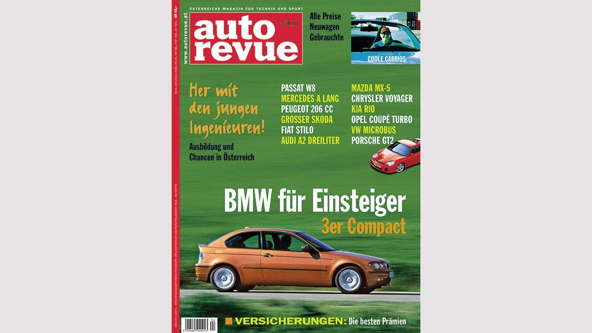 Autorevue Magazin-Archiv: Ausgabe 04/2001