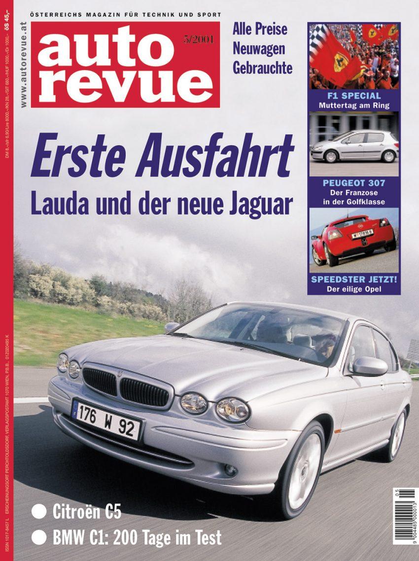autorevue-cover-der-ausgabe-2001-05