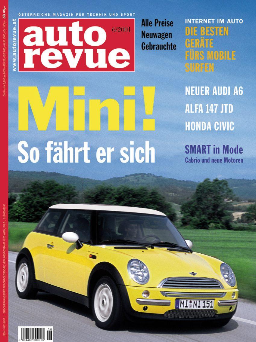 Autorevue Magazin-Archiv: Ausgabe 06/2001