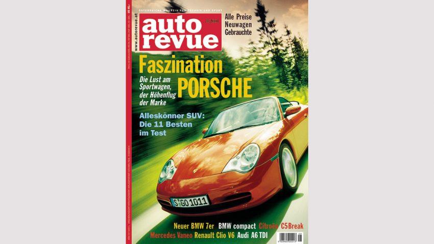 Autorevue Magazin-Archiv: Ausgabe 08/2001