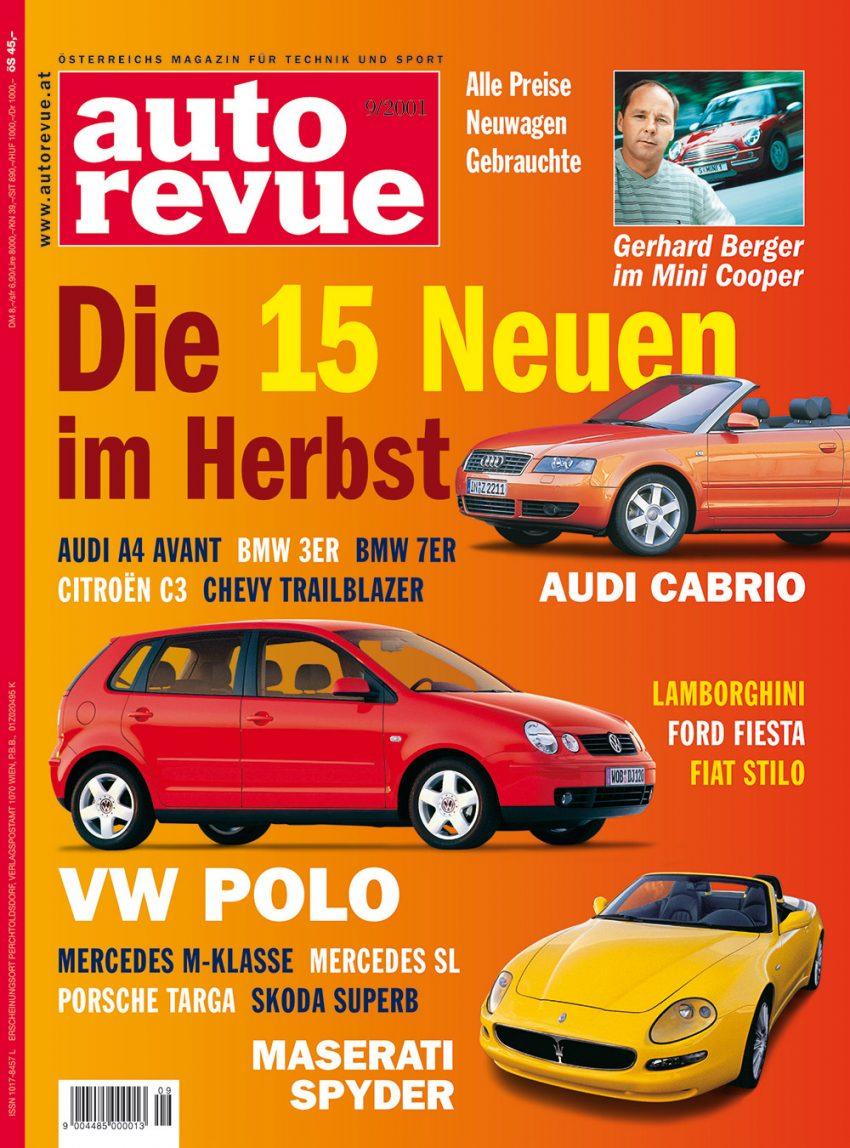 autorevue-cover-der-ausgabe-2001-09