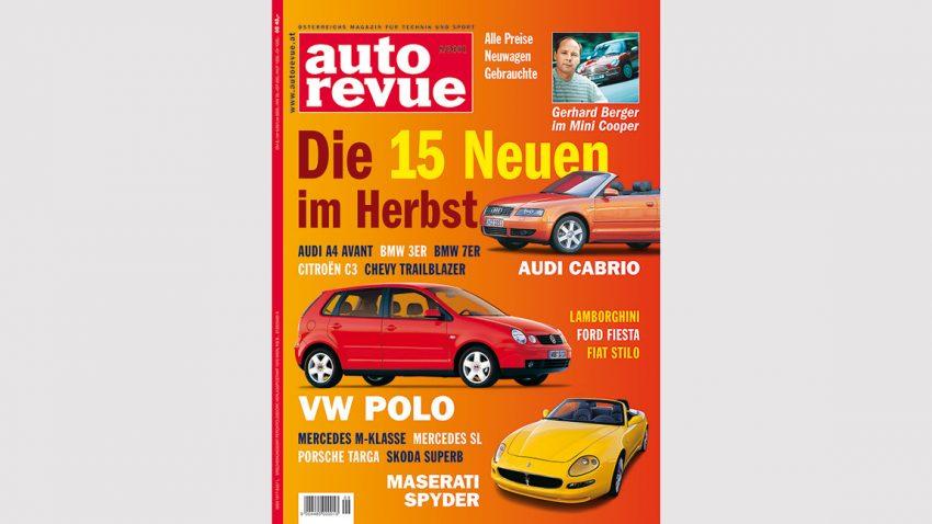Autorevue Magazin-Archiv: Ausgabe 09/2001