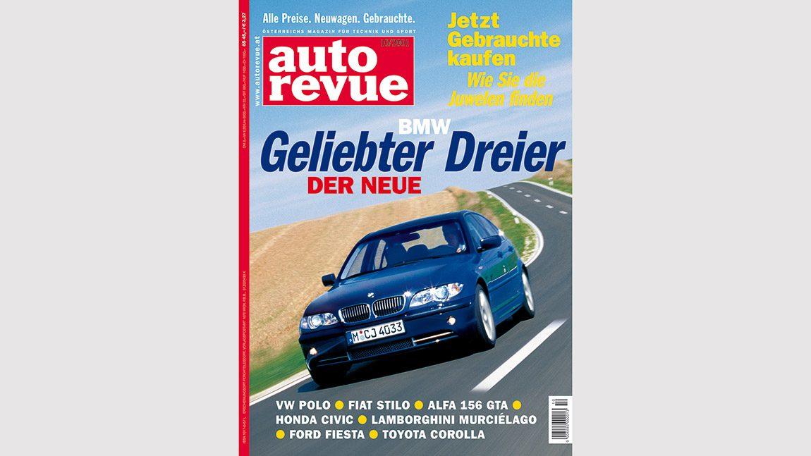 Autorevue Magazin-Archiv: Ausgabe 10/2001