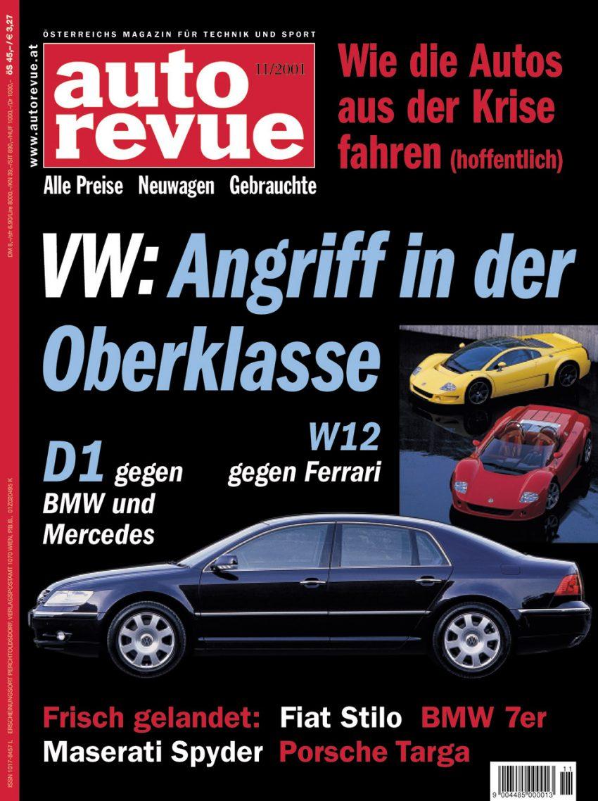 autorevue-cover-der-ausgabe-2001-11