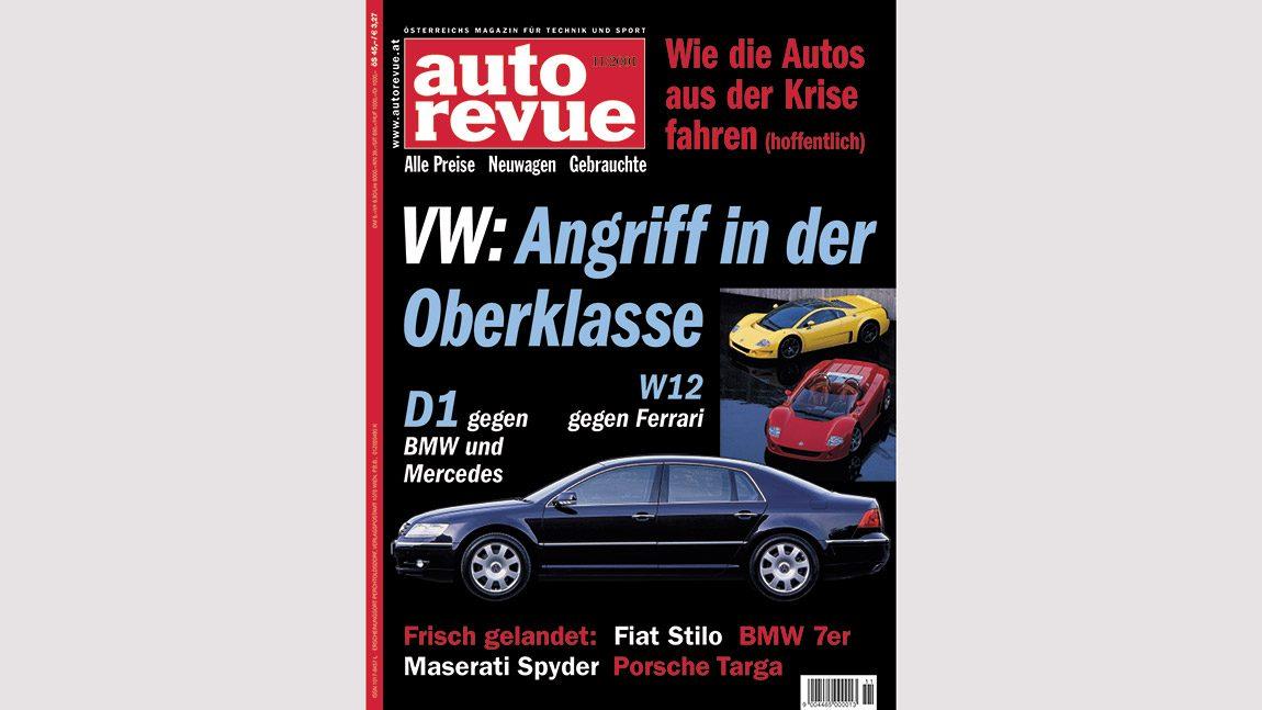 Autorevue Magazin-Archiv: Ausgabe 11/2001