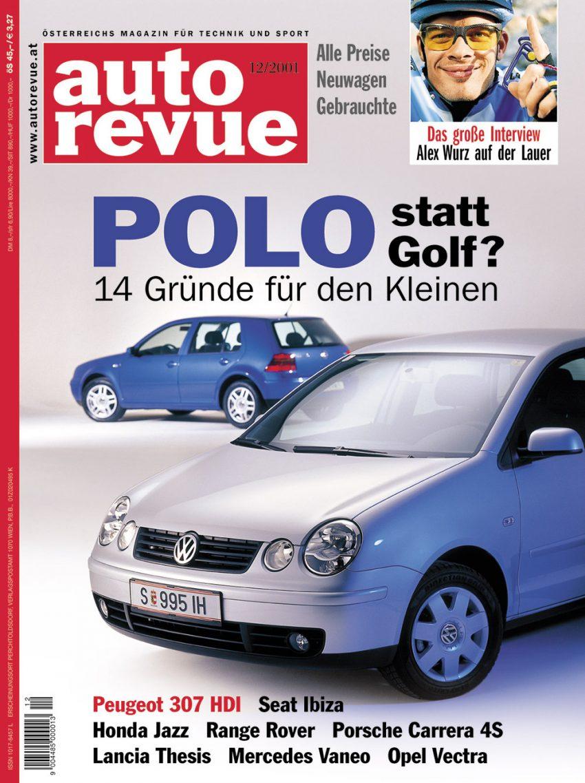 autorevue-cover-der-ausgabe-2001-12