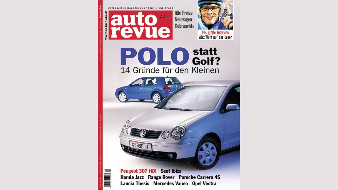 Autorevue Magazin-Archiv: Ausgabe 12/2001