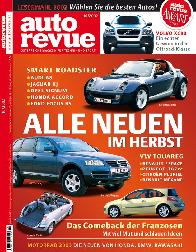 Autorevue Magazin-Archiv: Ausgabe 10/2002