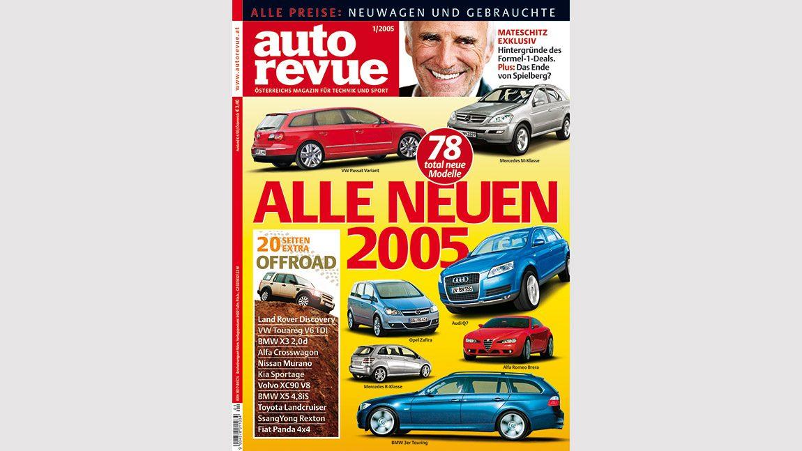 Autorevue Magazin-Archiv: Ausgabe 01/2005