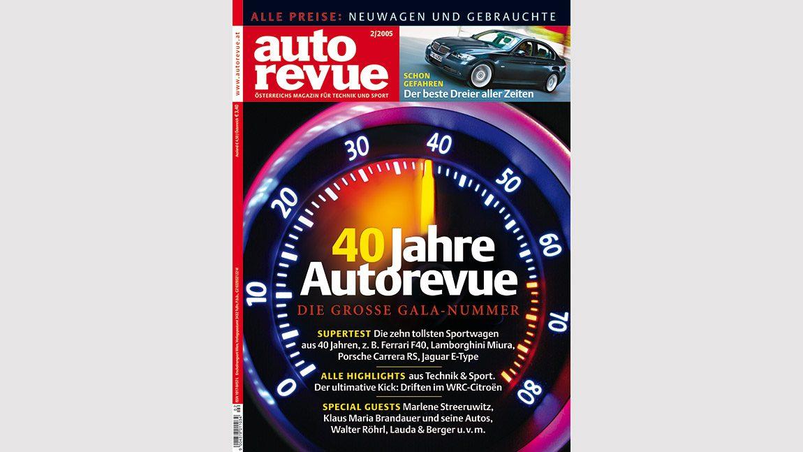 Autorevue Magazin-Archiv: Ausgabe 02/2005