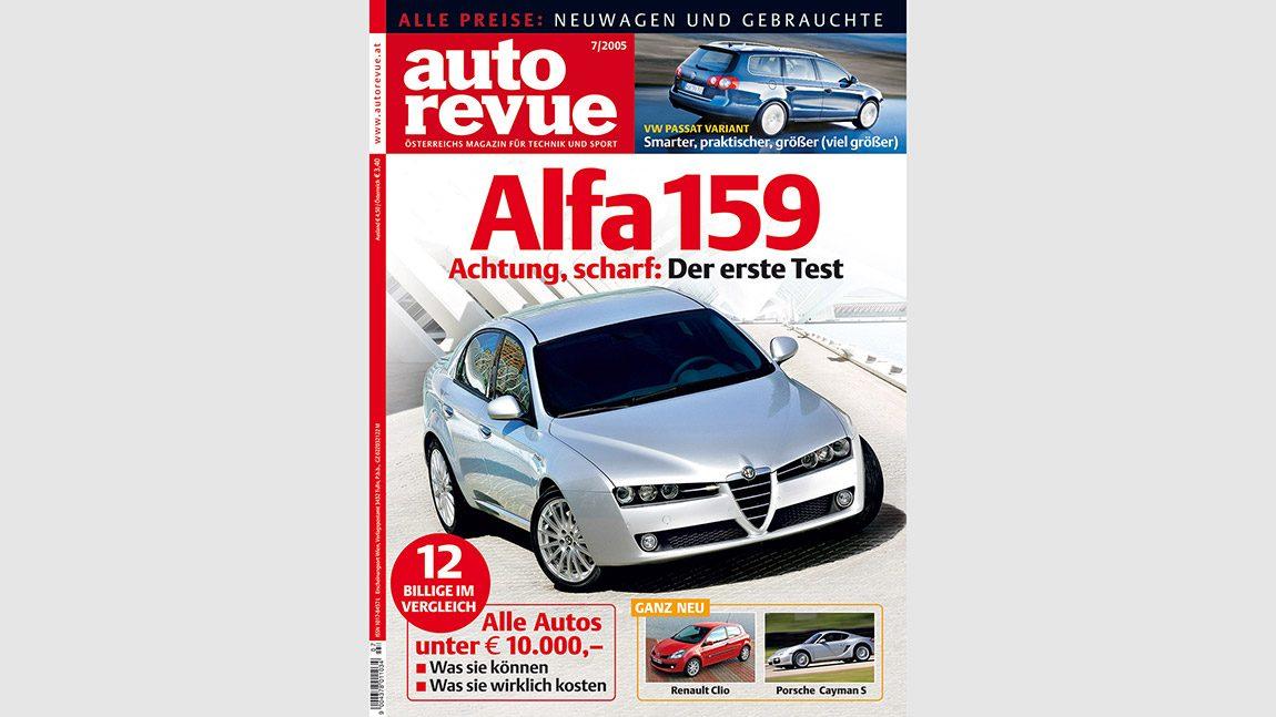 Autorevue Magazin-Archiv: Ausgabe 07/2005