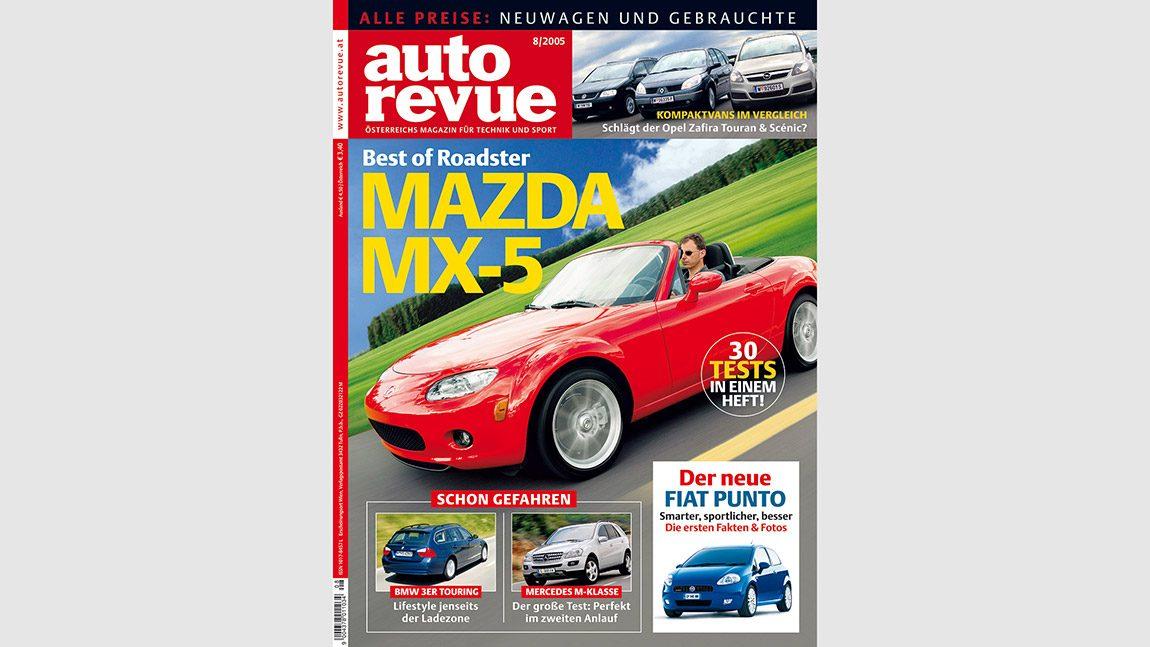 Autorevue Magazin-Archiv: Ausgabe 08/2005