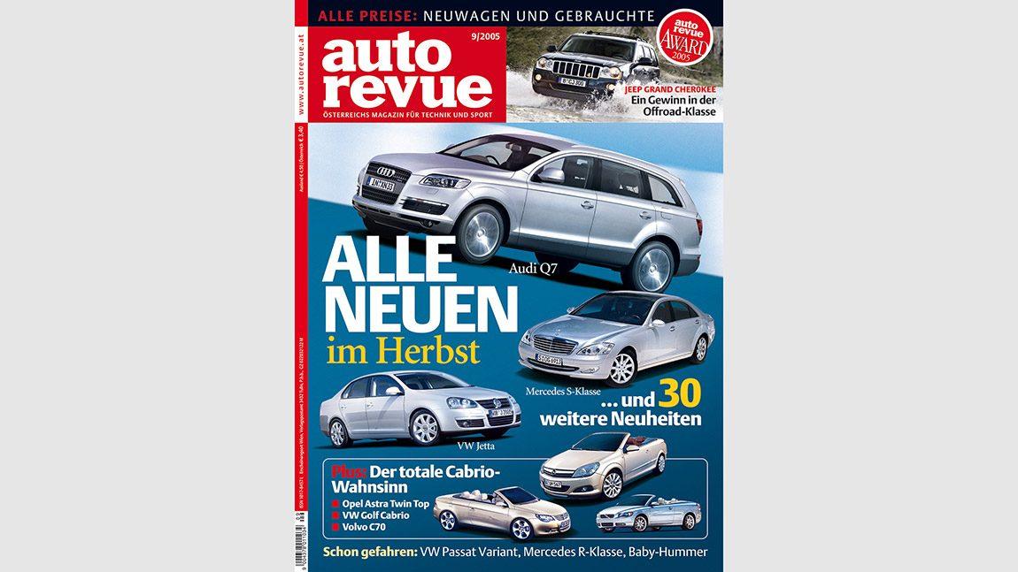 Autorevue Magazin-Archiv: Ausgabe 09/2005