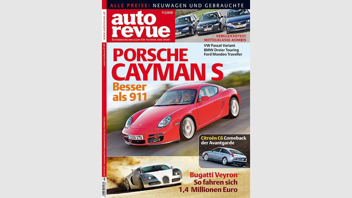 Autorevue Magazin-Archiv: Ausgabe 11/2005