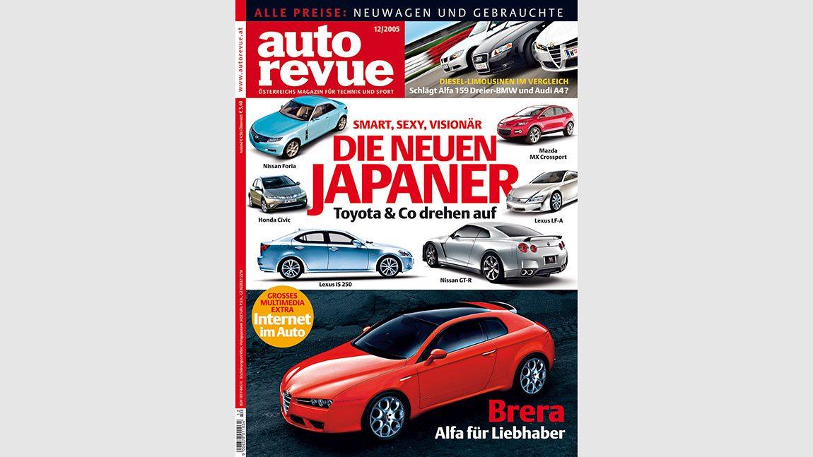 Autorevue Magazin-Archiv: Ausgabe 12/2005