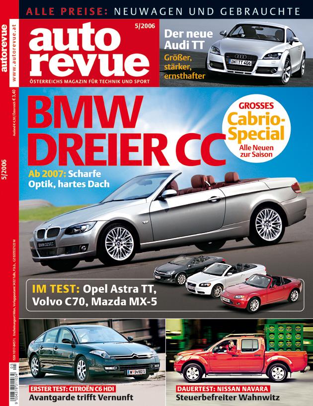 Autorevue - Cover der Ausgabe 2006 05