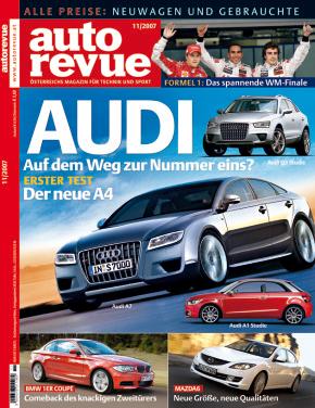 Autorevue Magazin-Archiv: Ausgabe 11/2007