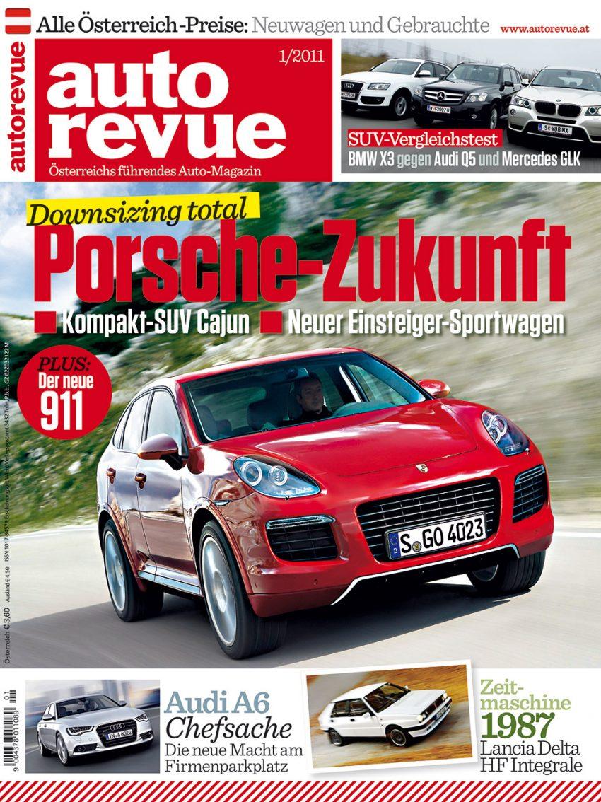 Autorevue Magazin-Archiv: Ausgabe 01/2011