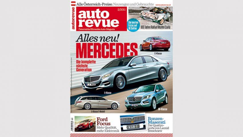 Autorevue Magazin-Archiv: Ausgabe 02/2011