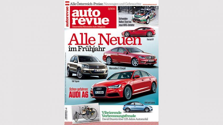 Autorevue Magazin-Archiv: Ausgabe 03/2011