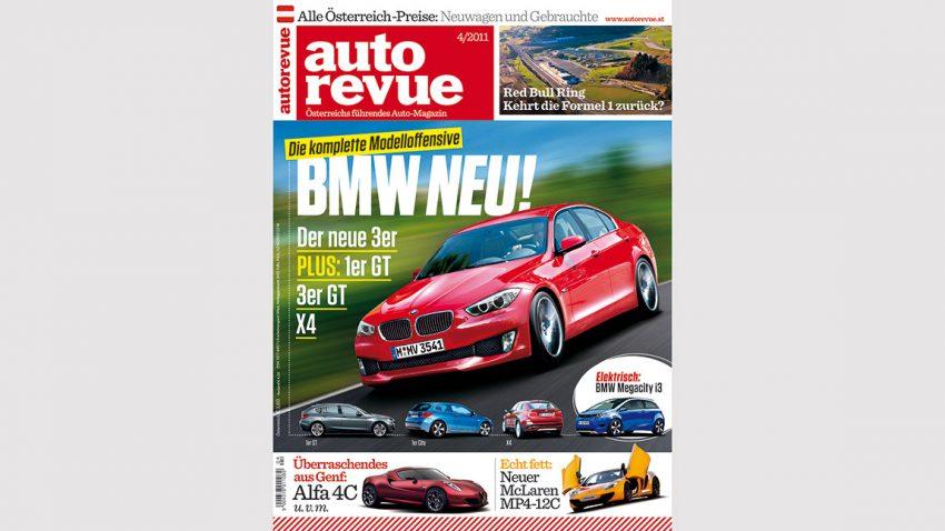 Autorevue Magazin-Archiv: Ausgabe 04/2011