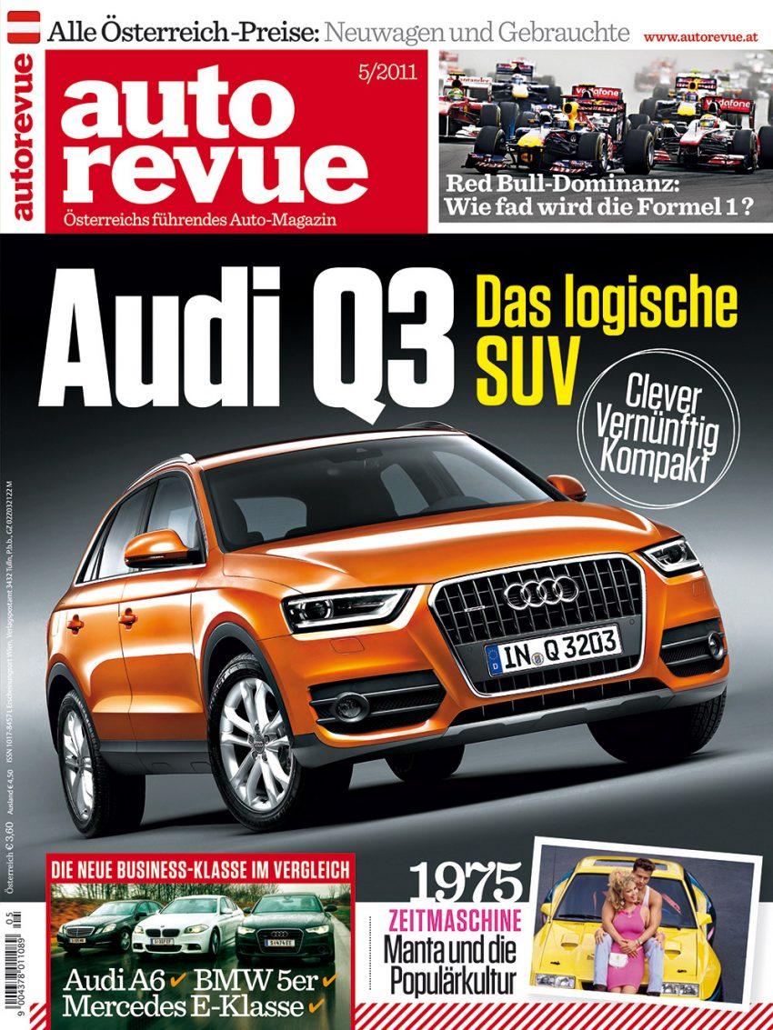 Autorevue Magazin-Archiv: Ausgabe 05/2011