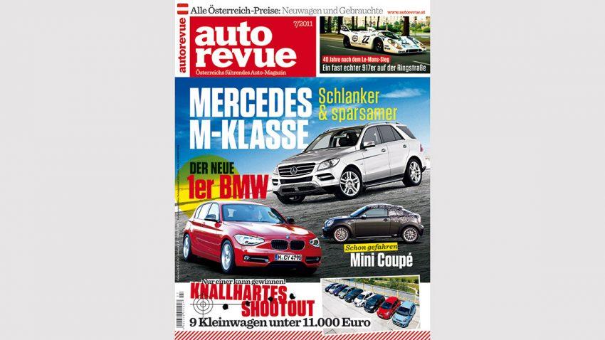 Autorevue Magazin-Archiv: Ausgabe 07/2011