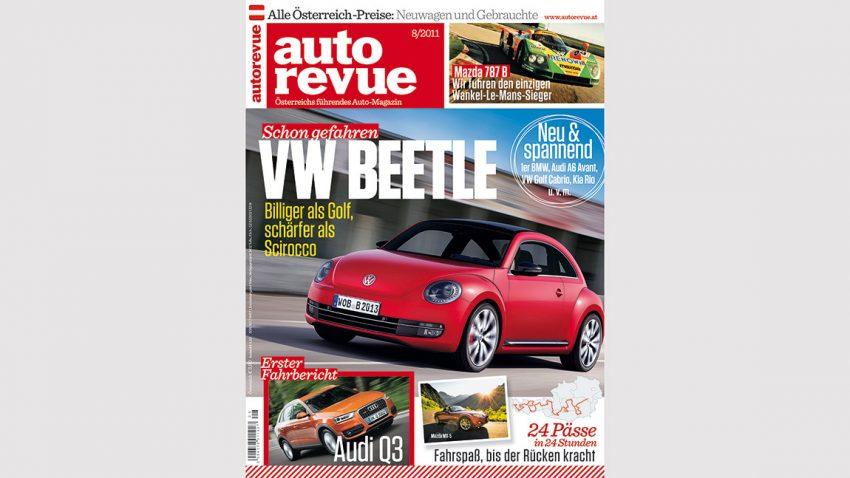 Autorevue Magazin-Archiv: Ausgabe 08/2011