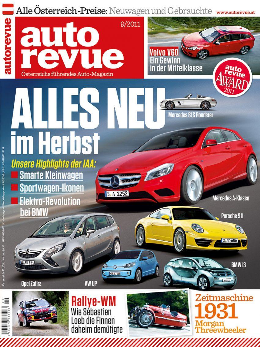 Autorevue Magazin-Archiv: Ausgabe 09/2011