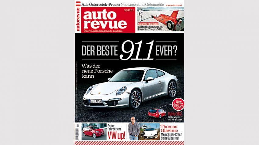 Autorevue Magazin-Archiv: Ausgabe 10/2011