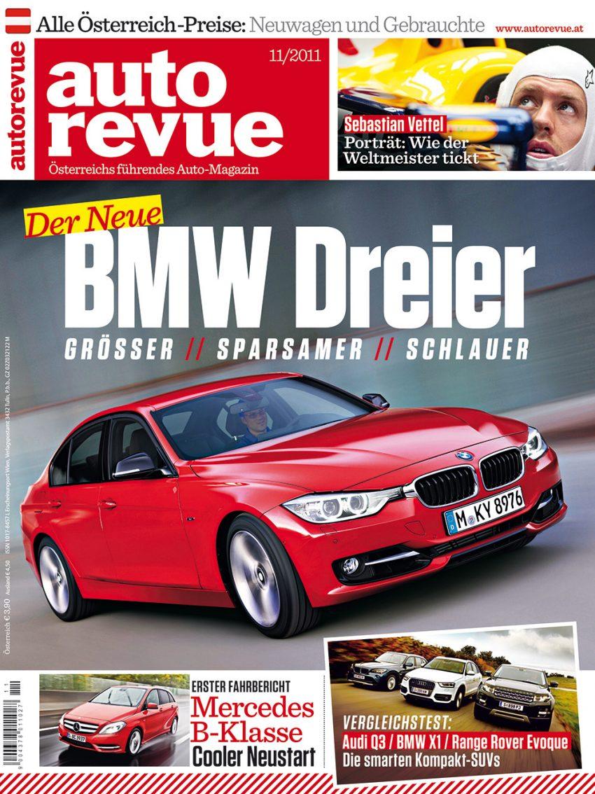 Autorevue Magazin-Archiv: Ausgabe 11/2011