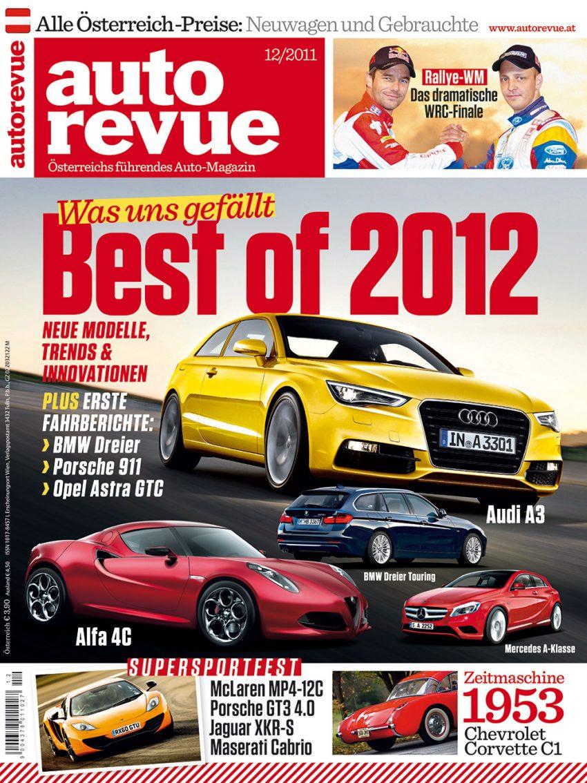 Autorevue Magazin-Archiv: Ausgabe 12/2011
