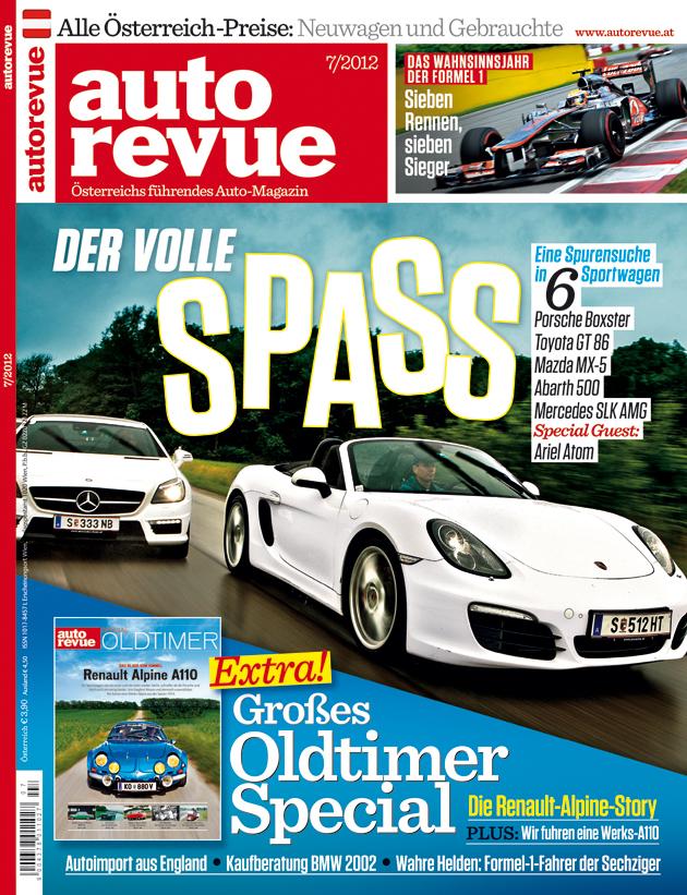 Autorevue Magazin-Archiv: Ausgabe 07/2012