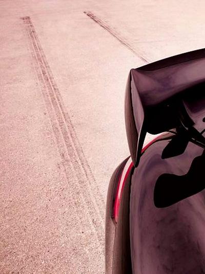 Der Porsche-Spoiler-Klassiker.
