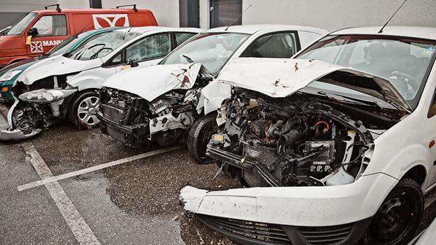 Dorotheum Versteigerung –Unfallautos Ford Fiesta