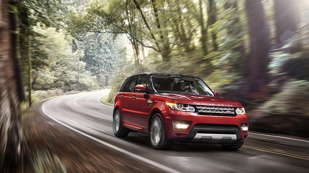 Land Rover Range Rover Sport 2013 dynamisch vorne rechts. Quelle: Werk