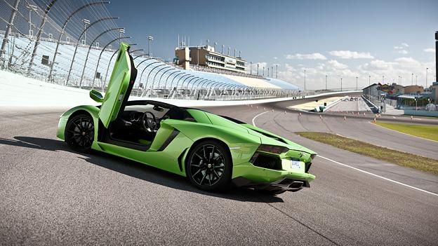 Lamborghini Aventador Roadster stat hili