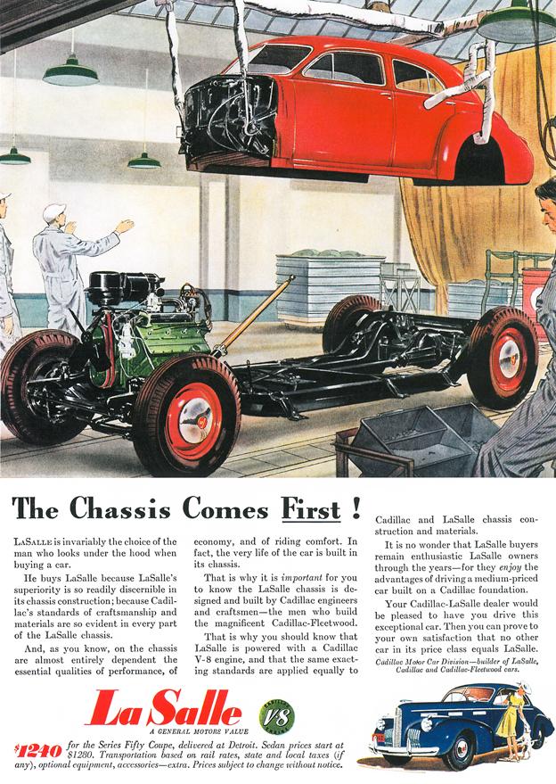 1940 - Cadillac LaSalle