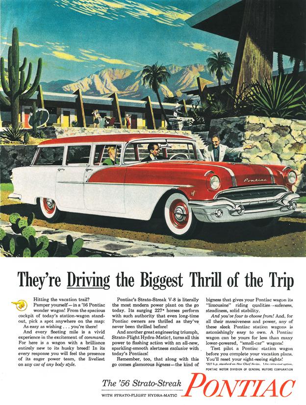 1956 - Pontiac Star Chief Safari Station Wagon