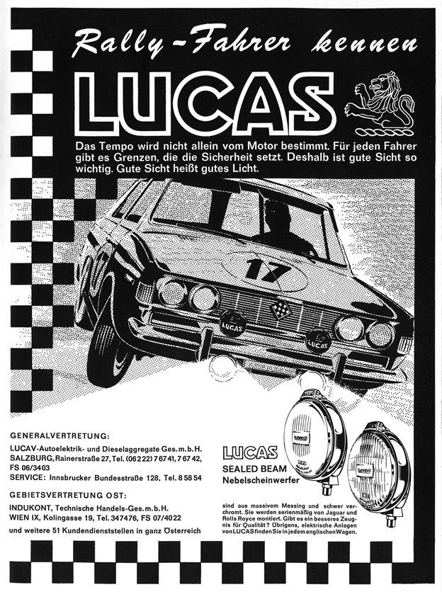 1965 - Lucas Scheinwerfer